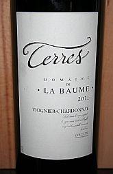 Domaine de La Baume Terres 2011