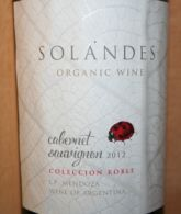 Solandes Cabernet Sauvignon Coleccion Roble 2012