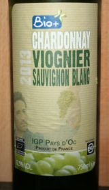 Bio+ Chardonnay Viognier sauvignon Blanc