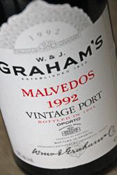 Graham's Malvedos Vintage Port 1992
