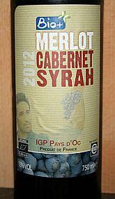 Bio+ Merlot Cabernet Syrah