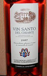 Vin Santo Del Chianti 2007 Montemorli