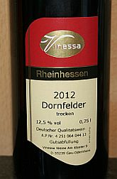 Vinessa Dornfelder 2012