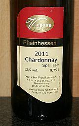 Vinessa Chardonnay Spätlese 2012