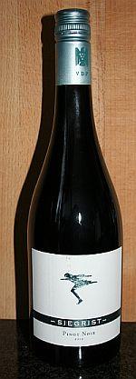 Weingut Siegrist Pinot Noir 2012