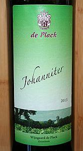 Wijngaard de Plack Johanniter 2013