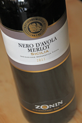 Zonin Nero d'Avola Merlot 2011