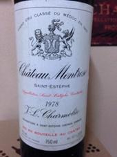 Chateau Montrose 1978