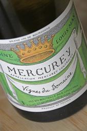 Domaine Louis Max Mercury Blanc 2012