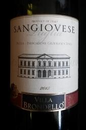 Villa Brondello 2013, Sangiovese, igt, puglia, Italië