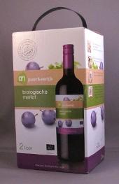 De biologische wijn van Albert Heijn is niet alleen goed maar ziet er ook nog eens leuk uit.