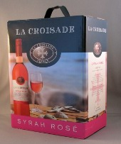 la croisade, syrah rose, sligro bib