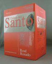 quinta del santo rosato, rosé, spanje, bag in box