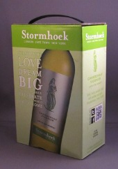 stormhoek chardonnay viognier, zuid afrika, bag in box