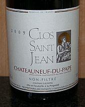 Clos Saint Jean 2009