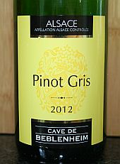 Cave de Beblenheim Pinot Gris