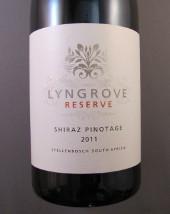 Lyngrove Reserve, Shiraz / Pinotage 2011, Stellenbosch, Zuid Afrika