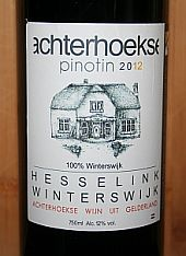 Wijngaard Hesselink Pinotin 2012