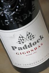 Paddock Gigondas 2012
