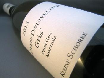 Schouwen DⓇuiveland Gris 2013, Pinot Gris / Auxerrois, De Kleine Schorre