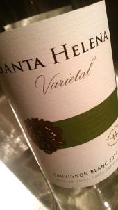 Santa Helena Varietal, Sauvignon Blanc 2014, Central Valley, Chili
