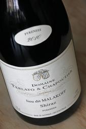 "Domaine Terlato & Chapoutier ""Lieu dit Malakoff"" Shiraz 2010"