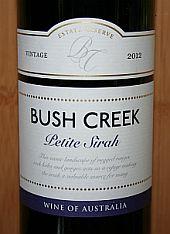 Bush Creek Petite Sirah