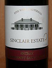 Sinclair Estate Shiraz Cabernet