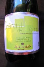 ackerman, crémant de loire, brut, val de loire