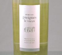 Domaine Preignes le Vieux 2013, Prestige, Viognier, Frankrijk