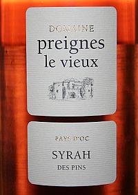 Preignes le Vieux Syrah Rosé