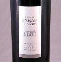 Domaine Preignes Le Vieux 2011, Prestige, Petit Verdot, Pays d'Oc, Frankrijk