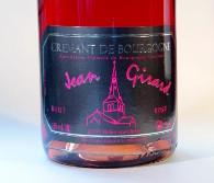 Jean Girard, brut rosé, cremant de bourgogne