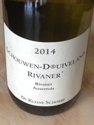 De Kleine Schorre Rivaner+ 2014