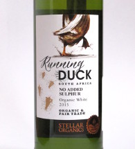 Running duck, Zuid Afrika, Organic & fair trade, organic white, no added sulphur
