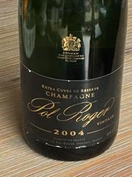 Pol Roger Brut Champagne Vintage 2004