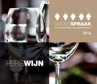 grootspraak 2016, beste wijn restaurants in Nederland