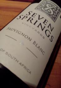 Seven Springs 2014, Sauvignon Blanc, Zuid Afrika