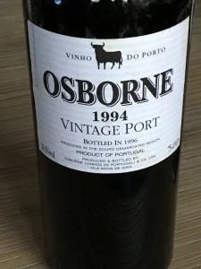 Osborne Vintage Port 1994