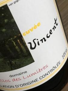 Domaine le Clos des Lumieres Cuvee Vincent 2014 a