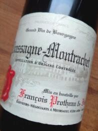 Francois Protheau & Fils 2012, Chassagne-Montracet, Bourgogne detail