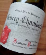 Francois Protheau & Fils 2013, Gevrey-Chambertin, Bourgogne, Frankrijk