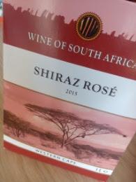 Shiraz Rosé 2015, Lidl, Western Cape, Zuid Afrika