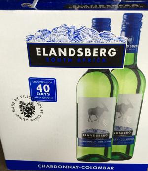 Elandsberg Chardonnay Colomar Zuid Afrika BiB