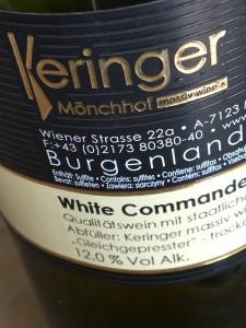 Keringer White Commander 2014 B