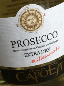 PROSECCO MILLESIMATO EXTRA DRY DOC, TENUTA CAPOEST LUCCHESE A