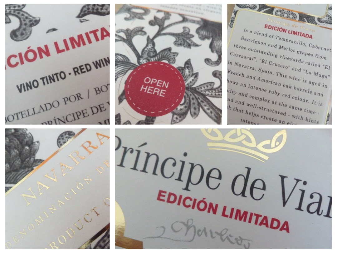 Príncipe de Viana 2012, Edición Limitada, Navarra, Spanje detail