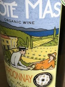 Cote Mas Organic Chardonnay Rural par Nature 2014 a