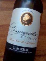 Franquette 2014, Bergerac Blanc, Frankrijk