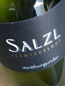 Salzl Seewinkelhof Weissburgunder 2015 A